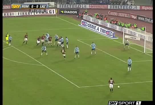 Watch and share Roma-Lazio Tacco Di Mancini Commento Fabio Caressa A Sky GIFs on Gfycat