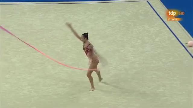 Watch and share Kaho Minagawa. 2017 World Championships. AA. Ribbon GIFs on Gfycat
