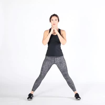 Watch and share 400x400 How To Get Rid Of Hip Dips Side Lunges GIFs by Healthline on Gfycat