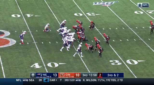 Watch and share 16 Jules Had To Go Quick But White Picked Up The 1st Down GIFs on Gfycat