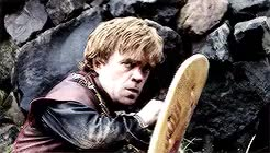 Watch and share Tyrion Lannister GIFs and Peter Dinklage GIFs on Gfycat