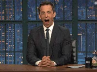 Watch seth meyers, tv, tv show, late night seth meyers, shock GIF on Gfycat. Discover more related GIFs on Gfycat
