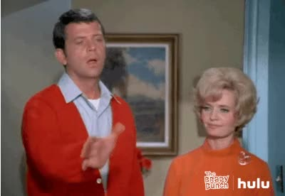 Watch and share Brady Bunch animated stickers on Gfycat