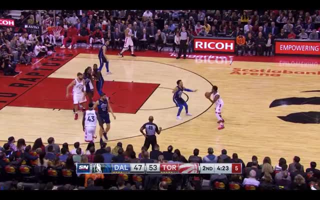 Watch Post Pass GIF by @louiszatzman on Gfycat. Discover more Toronto Raptors, basketball GIFs on Gfycat