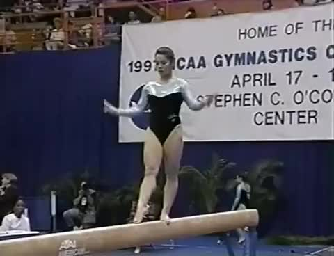 Watch 1997 NCAA Women's Gymnastics Championships GIF on Gfycat. Discover more related GIFs on Gfycat