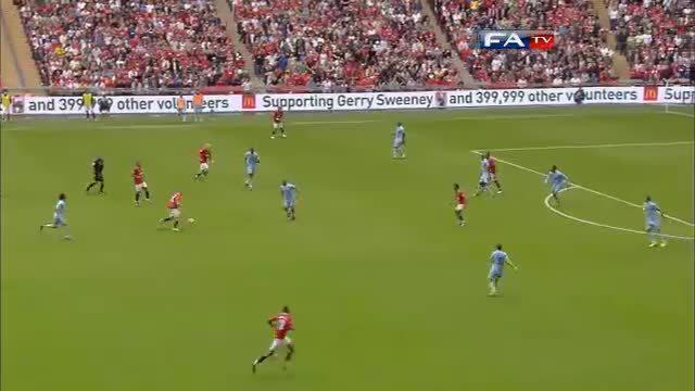 soccergifs, Man City 2-3 Man Utd - Community Shield 2011   Goals & Highlights (reddit) GIFs
