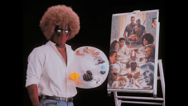 Watch and share Bob Ross GIFs and Deadpool GIFs by Reactions on Gfycat