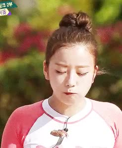 Watch and share Weekly Idol GIFs and Yoon Bomi GIFs on Gfycat