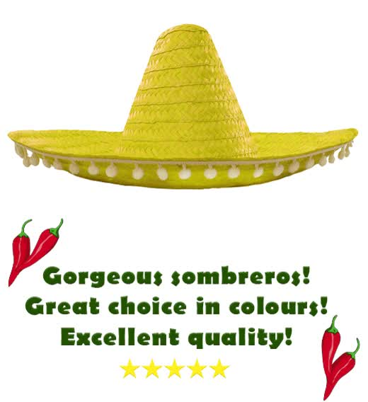 Watch and share Sombrero-gif GIFs on Gfycat