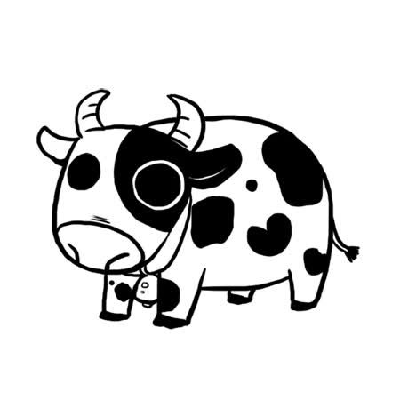 Watch and share Pocket Cow By Lotusmartus GIFs on Gfycat