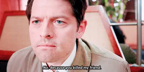 Watch and share Misha Collins GIFs and Spn Spoilers GIFs on Gfycat