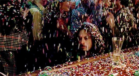 Gary Sinise, Lieutenant Dan, celebrate, dead inside, depressed, forrest gump, happy new year, new year, sad, unhappy, Sad Lieutenant Dan - Forrest Gump GIFs