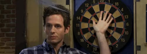 Watch and share Its Always Sunny In Philadelphia GIFs and Darts GIFs on Gfycat