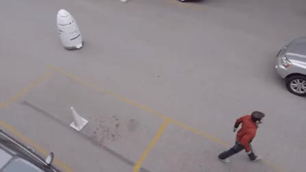 Watch and share Knight Cop Bot GIFs by Popular Science on Gfycat