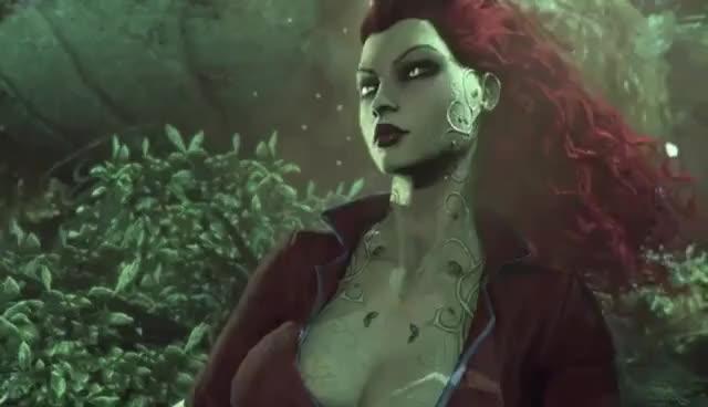 Watch Poison Ivy GIF on Gfycat. Discover more Arkham Asylum, Batman, Poison Ivy GIFs on Gfycat