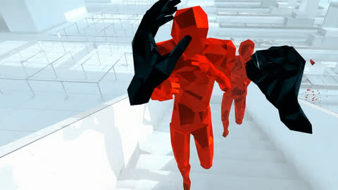 gaming, virtual reality, vr, Superhot VR GIFs