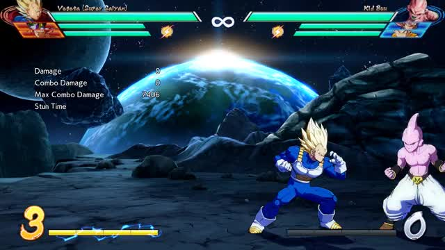 Watch and share Vegeta Corner JH W Assist Into Super Tag - 6878 Damage GIFs by robro on Gfycat