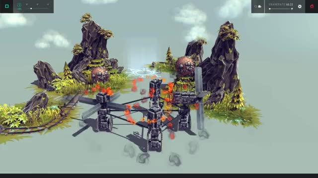 Watch and share Old Mining Site Rube Goldberg Machine - Besiege GIFs on Gfycat