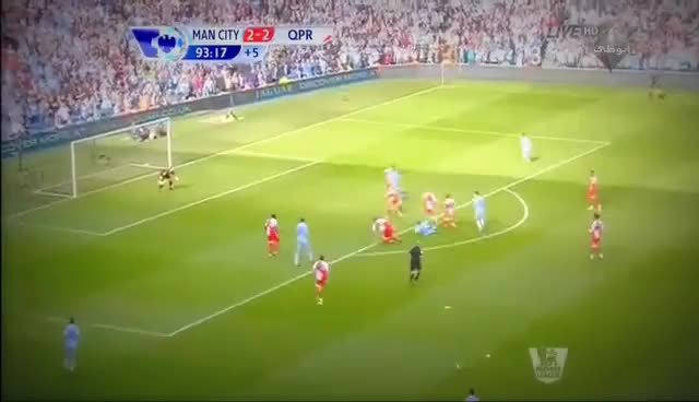 Watch and share Crazy Arabic Commentator Reaction To Sergio Aguero's Goal Vs QPR (13--05--2012) [HD]. GIFs on Gfycat