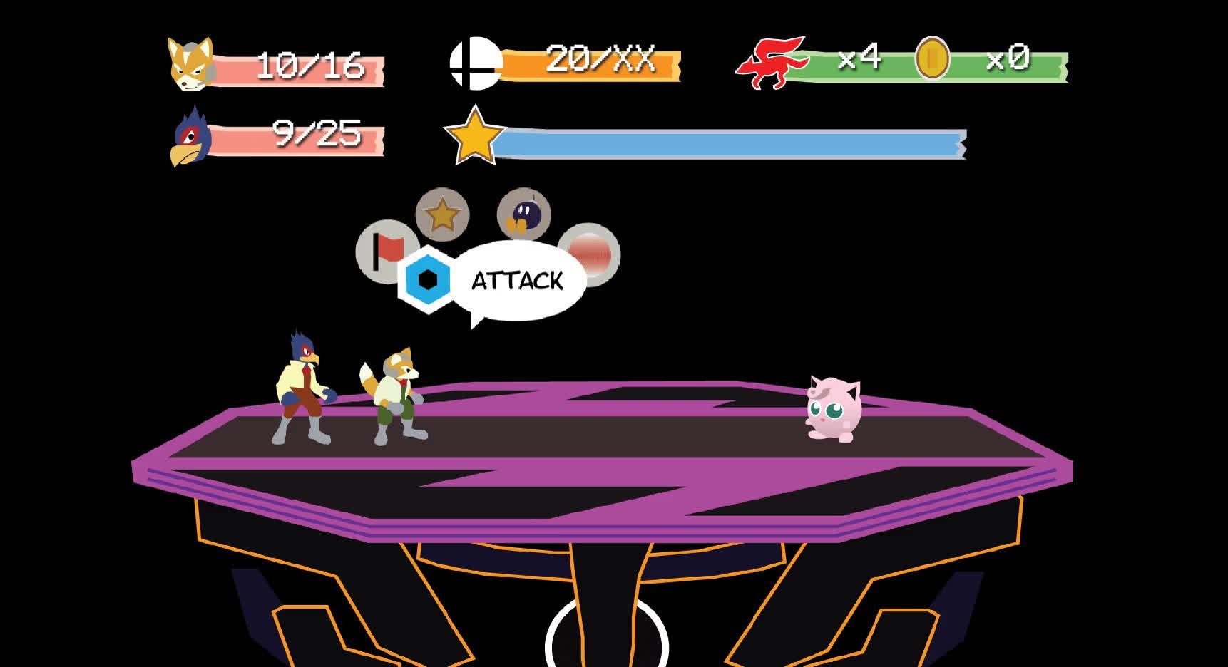 [ART] Super Smash Bros. Melee RPG (