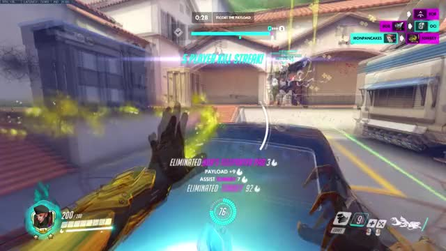 Watch Rein pin GIF on Gfycat. Discover more Overwatch, highlight GIFs on Gfycat