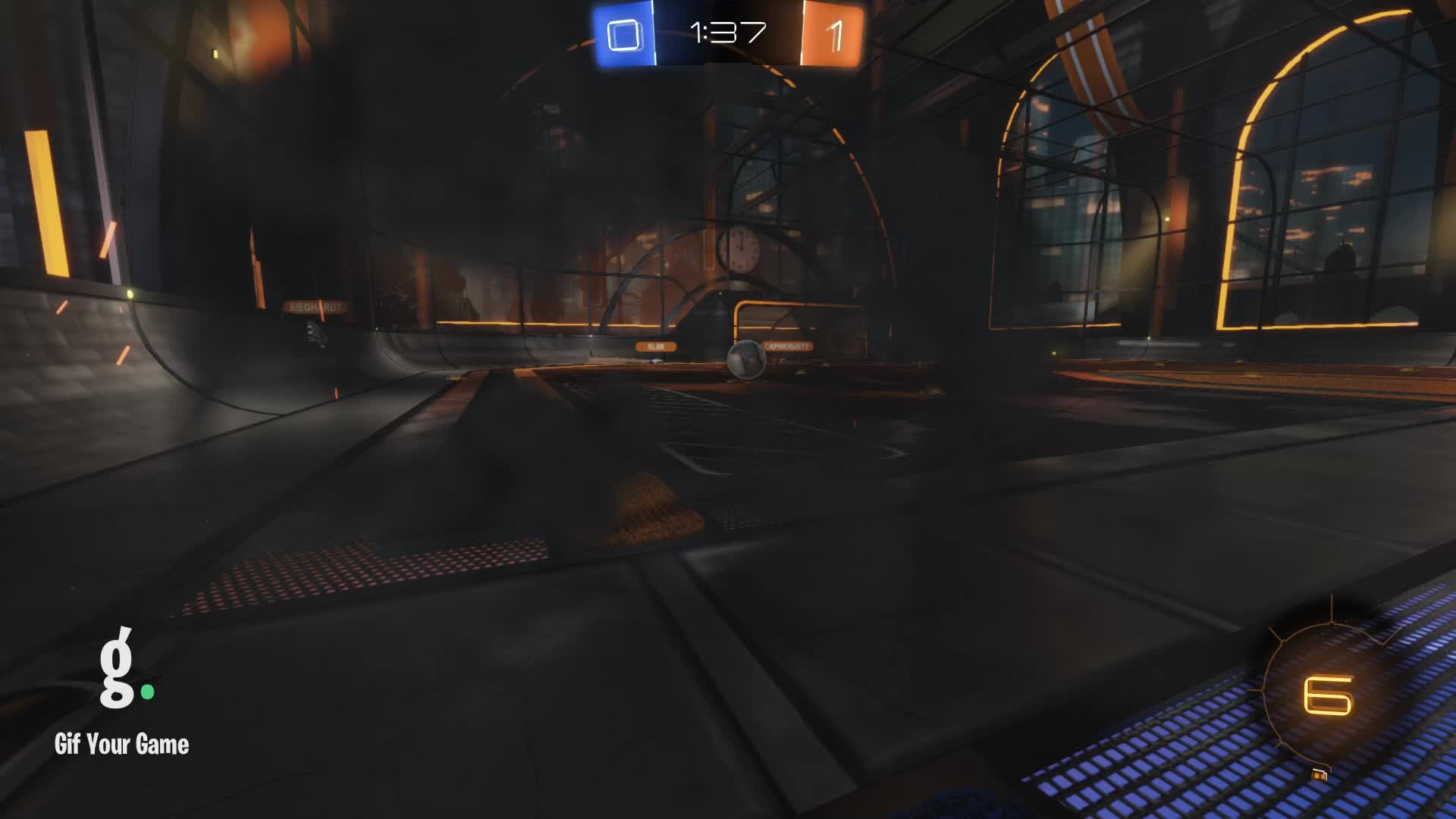 Gif Your Game, GifYourGame, Rocket League, RocketLeague, cdrch, Save 3: cdrch GIFs