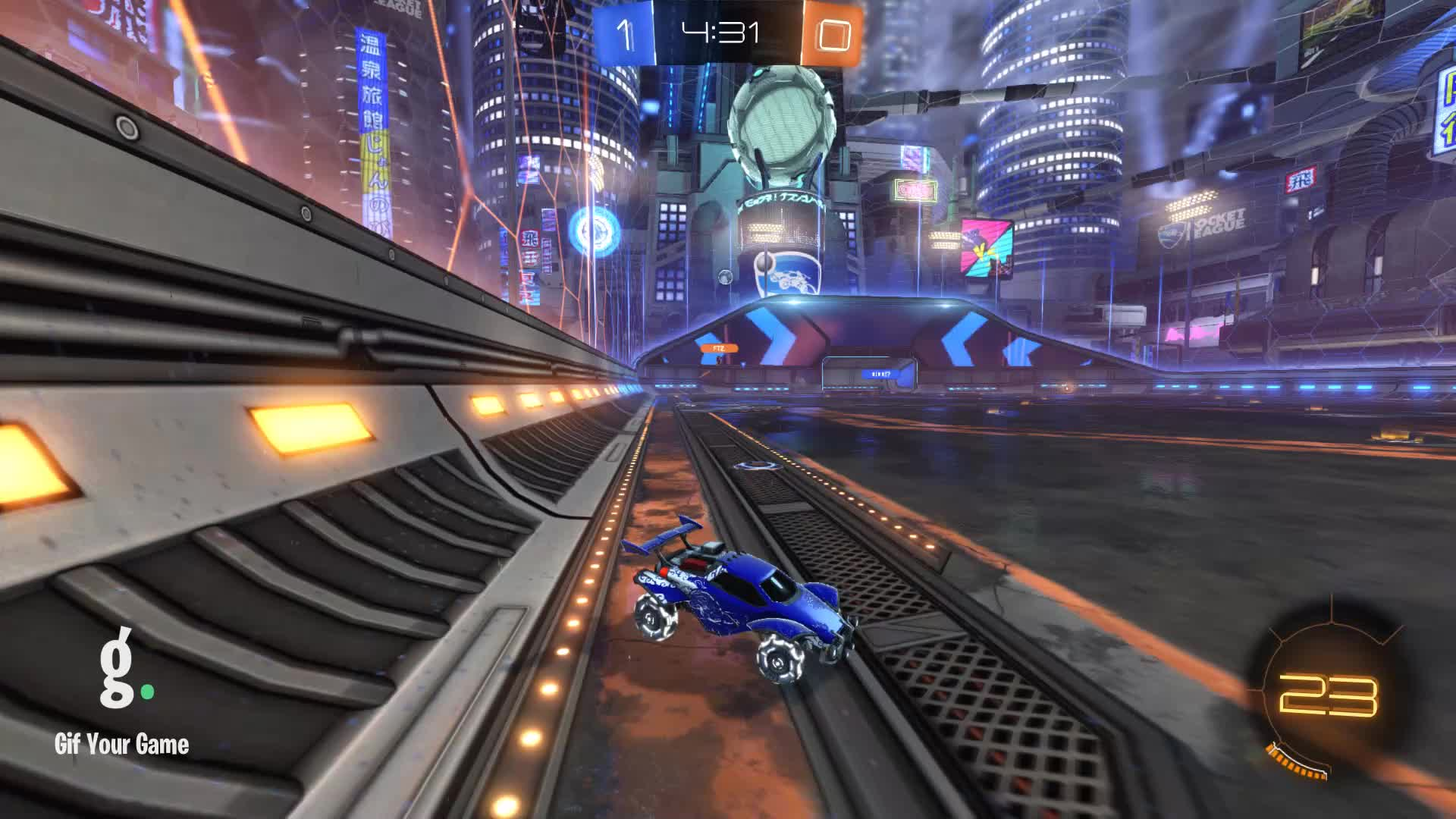 Gif Your Game, GifYourGame, Goal, Rocket League, RocketLeague, Styrrell, Goal 2: Grizzly Bare GIFs