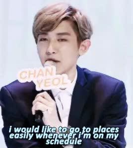 Watch and share Chanyeol GIFs and Chankai GIFs on Gfycat