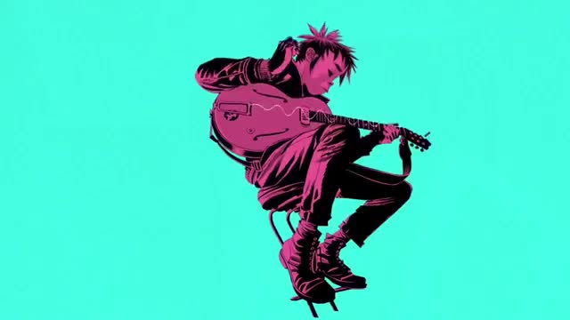 Watch and share Gorillaz GIFs on Gfycat