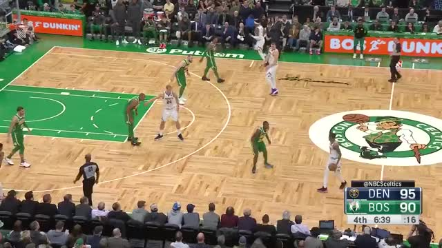 Watch and share Boston Celtics GIFs and Denver Nuggets GIFs on Gfycat