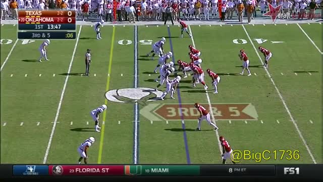 Watch and share Dede Westbrook Vs Texas 2016 GIFs on Gfycat