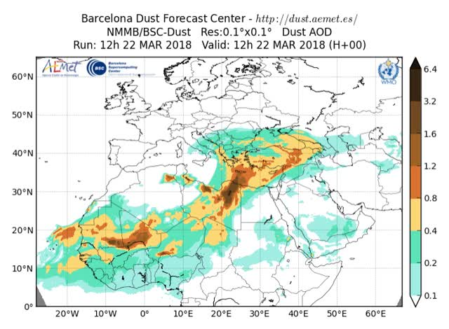 Watch and share 2018032212-3H SDSWAS NMMB-BSC-v2 OPER-OD550 DUST--loop- GIFs by The Watchers on Gfycat