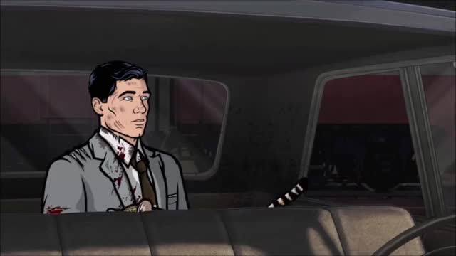 Watch YOU FOX-EARED ASSHOLE! GIF by Alba (@albatrossx3) on Gfycat. Discover more archerfx, babou, ocelot GIFs on Gfycat
