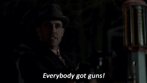 Watch and share Bobby Cannavale GIFs and Guns GIFs on Gfycat