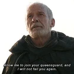 Watch and share Ser Barristan Selmy GIFs and Daenerys Targaryen GIFs on Gfycat
