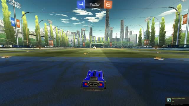 Watch and share Amazing Save In 1v1 Rocket League (opponents View) GIFs on Gfycat