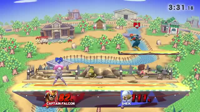 Watch and share Effective Falcon Punish On Sheik GIFs by z0mfg on Gfycat