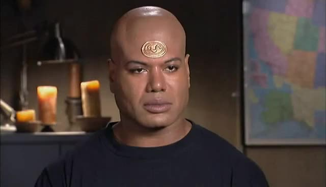Watch and share Teal'c Staring GIFs on Gfycat