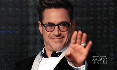 Watch and share Robert Downey Told Show Host Nice Tits GIFs on Gfycat
