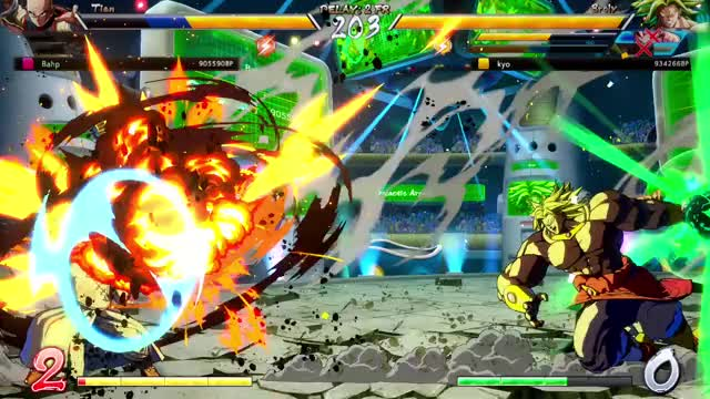 Watch and share DRAGON BALL FIGHTERZ (566) GIFs by bahptist on Gfycat