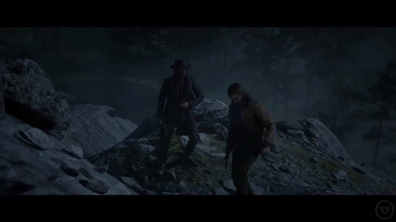 Arthur Gives John Marston His Hat Red Dead Redemption 2 Gif