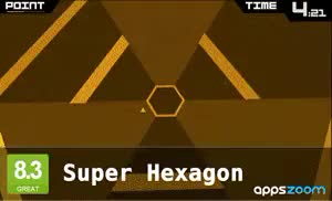 Watch and share Super Hexagon GIFs by jason5ten on Gfycat