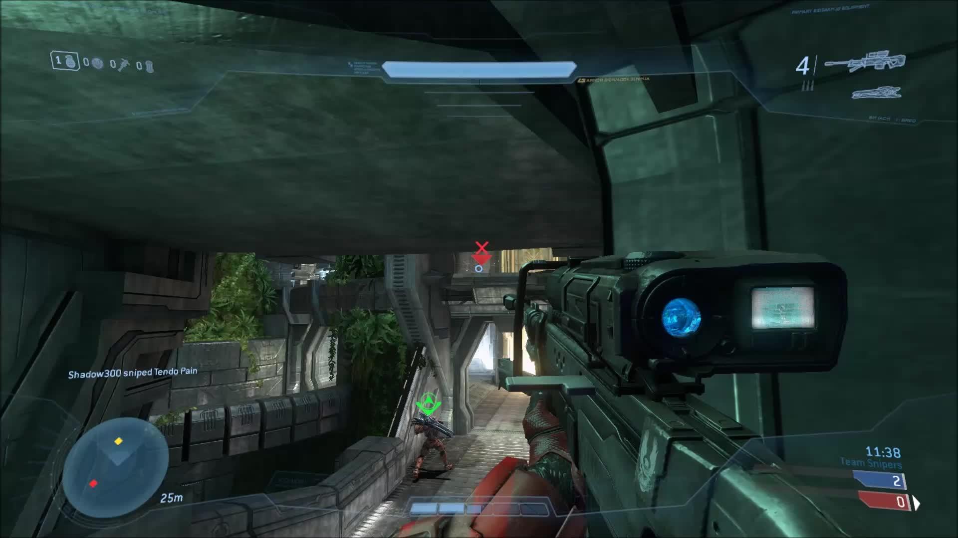 60fpsgifs, Halo, HaloOnline, Clean Noscope Overkill Extermination. GIFs