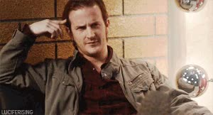"""Watch And would it surprise you that if you can see my wings, I can just see little devil horns on your head now?"""" GIF on Gfycat. Discover more richard speight jr GIFs on Gfycat"""