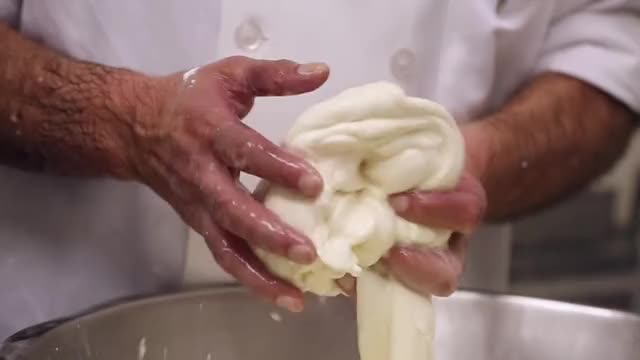 Watch this cheese GIF on Gfycat. Discover more cheese, food, fresh mozzarella, how cheese is made, how mozzarella is made, making mozzarella, mozzarella, tasty GIFs on Gfycat