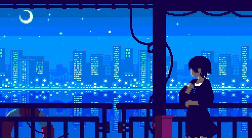 Watch and share Https://www.wykop.pl/wpis/34037565/dobranoc-mirkopolis-%CA%96-pixelart-comfy-gif/ GIFs on Gfycat