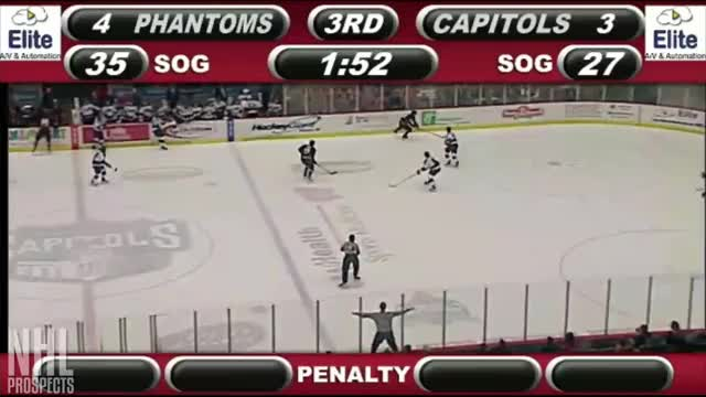 Watch Morrison backhand assist from corner GIF by @mpiedlourde on Gfycat. Discover more nhl, nhl draft, prospects GIFs on Gfycat