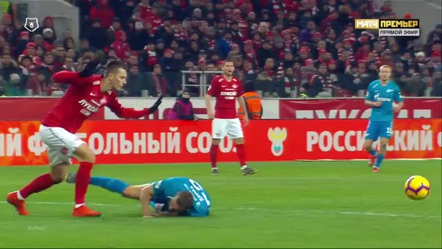 Watch and share 17.03.2019 - Spartak Moskva 1 1 Zenit St. Petersburg - Positional Attacks With Chances - 2nd Half, 14 36 - 15 5 GIFs on Gfycat