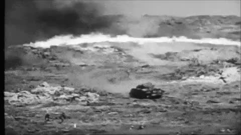 Watch and share Battle Of Iwo Jima GIFs and M4 Sherman Tank GIFs on Gfycat