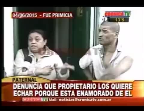 """Watch Cronica tv """"Tomaba merca y le gustaba que le haga el amor """" El señor Juan Carlos, era mi pareja...P2 GIF on Gfycat. Discover more related GIFs on Gfycat"""